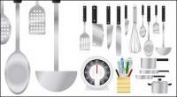 Colección de vector de electrodomésticos, material