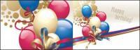 Material de vetor de arco de faixa de opções de balão