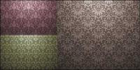 ヨーロッパ スタイルのタイル張りの背景パターン ベクトル材料