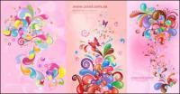 Vecteur coloré actuel séries de cas - Rose (5 P.)
