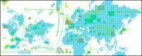 वेक्टर वर्तमान नक्शा सामग्री