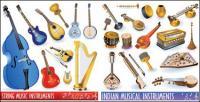 Icône de vecteur instrument musical