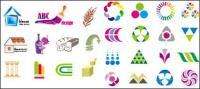 Variedade de design gráfico vetorial material