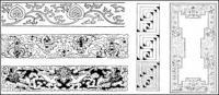 Material del vector clásico chino 17