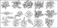 Material des 20 Chinese klassische Vektors