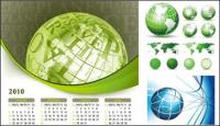 Земля тема векторного материала