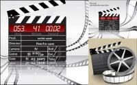 Material de Vector de tema de película