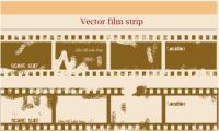 斑状の古い映画のベクトル