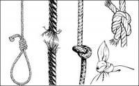 ロープ - 結果か。ベクター素材