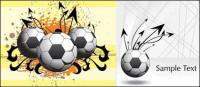 サッカーのテーマ王ベクター素材