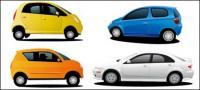4 mobil vektor bahan