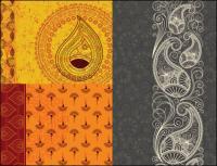 インド ハム粒背景ベクトル材料