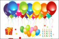Вектор празднования дня рождения материала