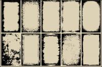 Graffiti Grenze Vektor des Materials [ausblenden]