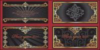 Vecteur de dentelle luxuriante Aureate de matériel