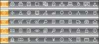 120 Simplicidade prático vector Icons