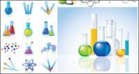 Vetor de ícones & produtos químicos