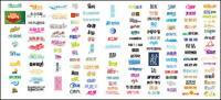中国の書体デザイン ベクトル素材 02