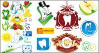 Proteger dientes dibujos animados icono material de vectores