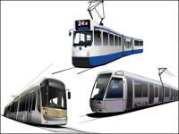 Вектор трамвай