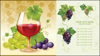 Виноград вектор