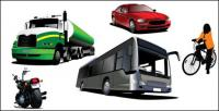 Transporte vector material