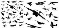Aeronaves, material de vetor de lutador