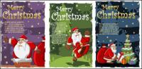 Engraçado Santa Claus vector