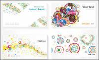 Modelos de cartão - Vector