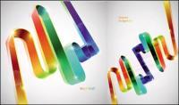 Цветные ленты вектор