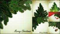 Pohon Natal lokal vektor