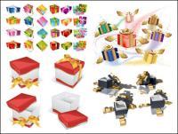 Подарочные коробки вектор