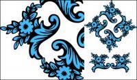 図古典的なパターン ベクトル材料