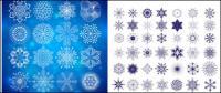 Requintado padrões gráficos - Vector
