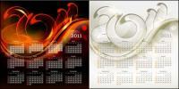 Шаблон календаря 2011 01 - вектор