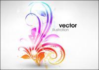 交響曲ファッション パターン ベクトル材料-1