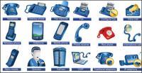 Meios de comunicação ícones - Vector