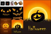 Halloween icône vecteur