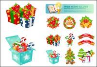 Natal Vector ícones