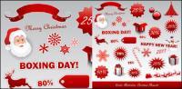 Vecteur icônes Noël 2011 nouvelle année