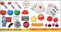 Poker, dados, ampliando o vetor de vidro