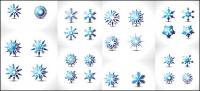 Spécial flocon de neige vecteur