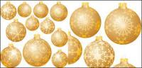 Boule de neige Noël décorations vecteur