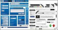 Vetor de elementos de design de página da Web