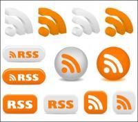 Assine o RSS ícones - Vector