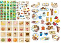 Ícone de alimentos encantador pequeno-almoço