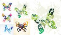Bela borboleta - Vector