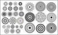 Material de vetor do padrão tradicional clássico