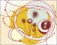 Belas ilustrações das crianças 04 - Vector