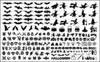Elementos de Halloween Vector